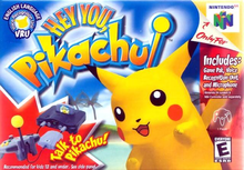 Box art for the game Hey You, Pikachu!
