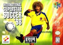 Box art for the game International Superstar Soccer '98