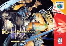 Box art for the game Killer Instinct Gold