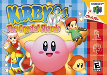 Box art for the game Kirby 64: The Crystal Shards
