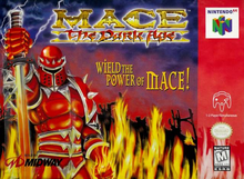 Box art for the game Mace: The Dark Age