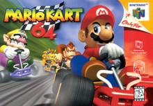 Box art for the game Mario Kart 64