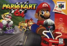 Box art for the game Mario Kart 64