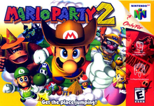 Box art for the game Mario Party 2