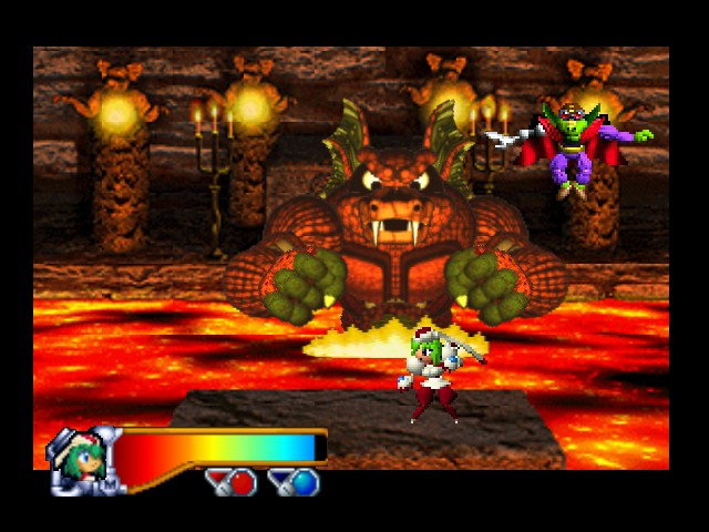 [Análise Retro Game] - Mischief Makers - Nintendo 64 Medium_4_screenshot