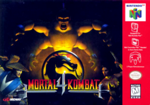 Box art for the game Mortal Kombat 4
