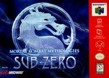 Box art for the game Mortal Kombat Mythologies: Sub-Zero