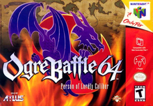 Box art for the game Ogre Battle 64: Person of Lordly Caliber