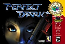 Box art for the game Perfect Dark