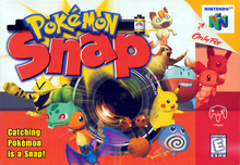 Box art for the game Pokemon Snap
