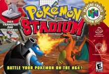 Box art for the game Pokemon Stadium