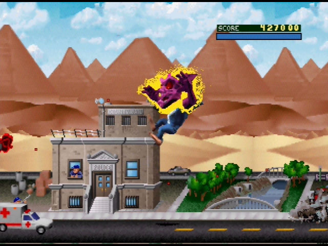 rampage game characters n64