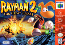 Box art for the game Rayman 2: The Great Escape