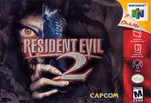 Capa do jogo Resident Evil 2