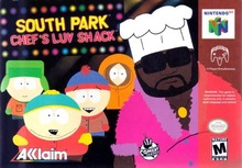 Box art for the game South Park: Chef's Luv Shack