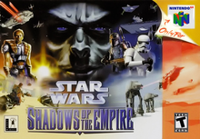Box art for the game Star Wars: Shadows of the Empire
