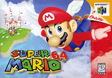 Box art for the game Super Mario 64