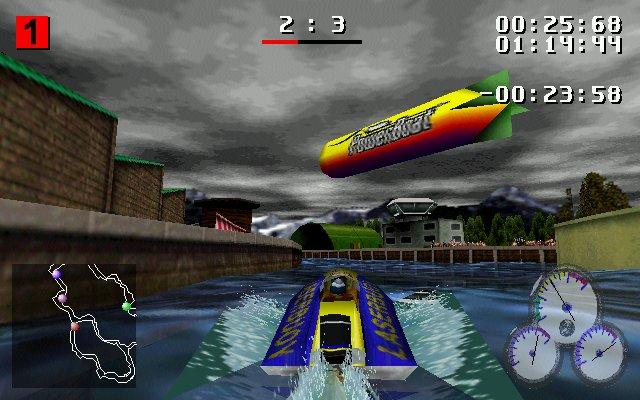 VR Sports Powerboat Racing - N64 - Alvanista