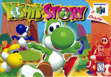 Box art for the game Yoshi's Story