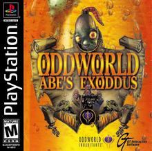Box art for the game Oddworld: Abe's Exoddus