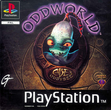 Box art for the game Oddworld: Abe's Oddysee