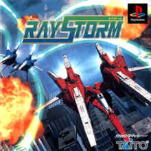 Box art for the game RayStorm