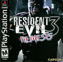 Box art for the game Resident Evil 3: Nemesis
