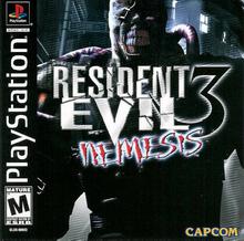 Capa do jogo Resident Evil 3: Nemesis