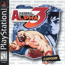 Box art for the game Street Fighter Alpha 3