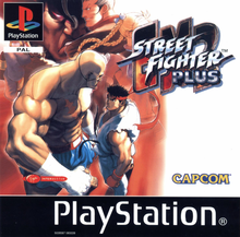 Box art for the game Street Fighter EX 2 Plus