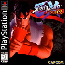 Box art for the game Street Fighter EX Plus Alpha