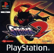 Box art for the game Strider 2