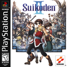 Box art for the game Suikoden II