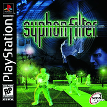Box art for the game Syphon Filter
