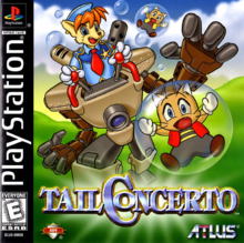 Box art for the game Tail Concerto