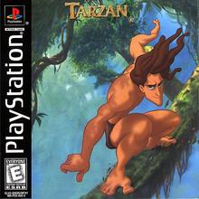 Box art for the game Tarzan