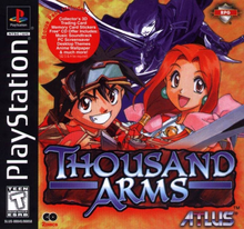 Box art for the game Thousand Arms