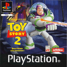 Box art for the game Toy Story 2: Buzz Lightyear to the Rescue!