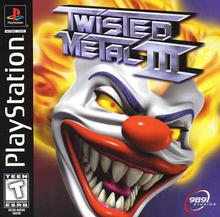 Capa do jogo Twisted Metal 3