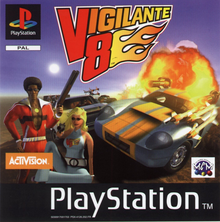 Box art for the game Vigilante 8