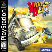 Capa do jogo Vigilante 8: Second Offense
