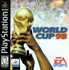 Box art for the game World Cup 98