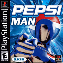 Box art for the game Pepsiman