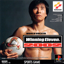 Box art for the game Winning Eleven 2002