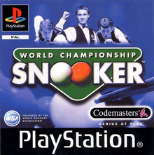 Box art for the game World Championship Snooker