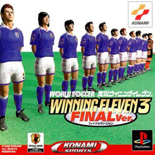 Box art for the game Winning Eleven 3 Final Ver