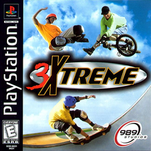 Box art for the game 3 Xtreme