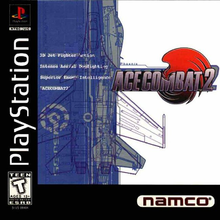 Box art for the game Ace Combat 2