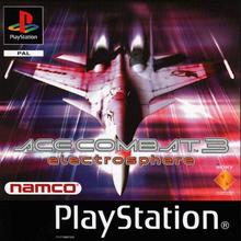 Capa do jogo Ace Combat 3: Electrosphere