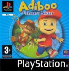 Box art for the game Adiboo & Paziral's Secret